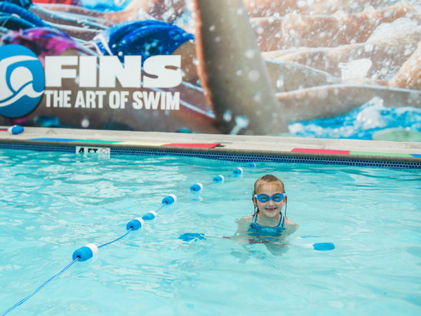Swim Lessons Build Kids' Confidence